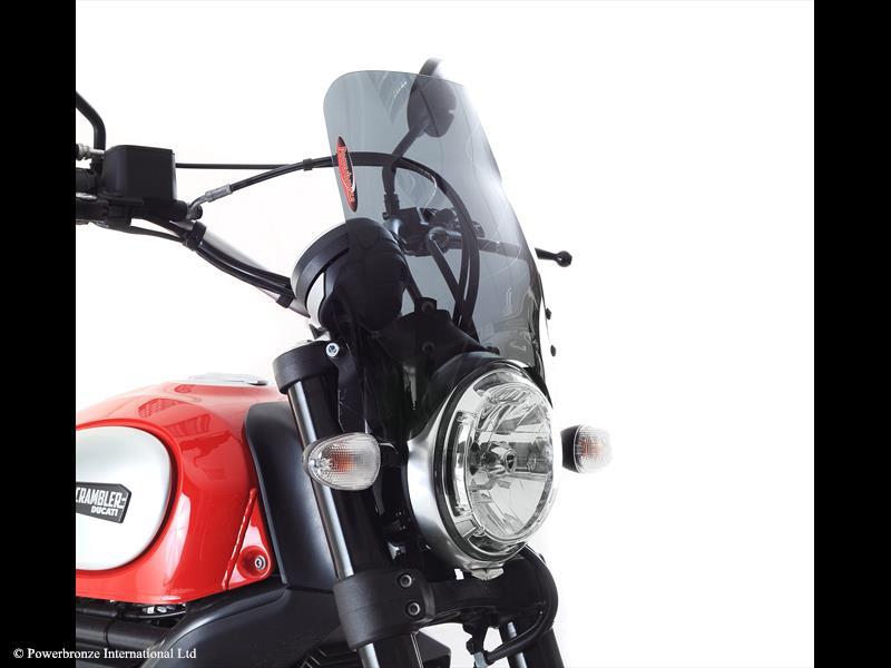 Light Screen Ducati Scrambler 15 18 350 Mm Powerbronze Usa